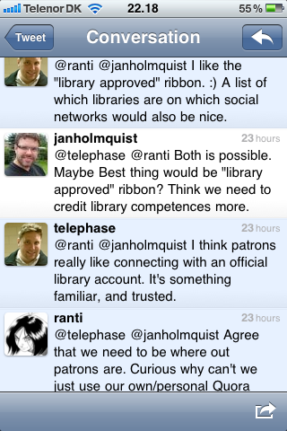 libraries and quora